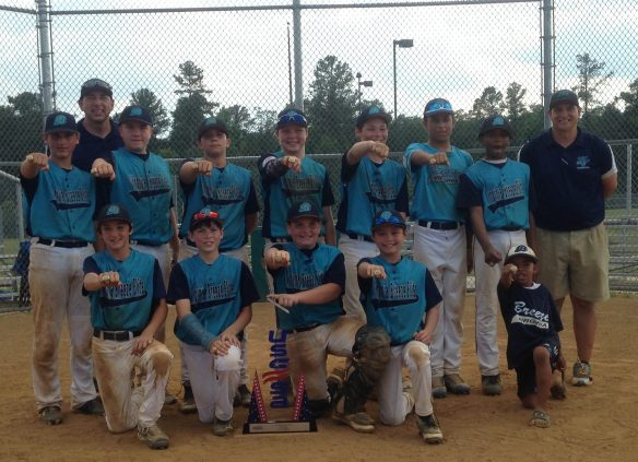 Northeast Super NIT Champions 12u   Great win in 95+ degree heat and high humidity--take that, TSW!