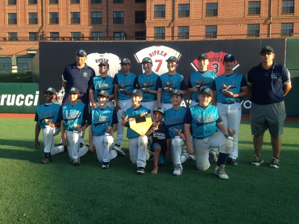 Virginia Breeze Elite 12u Cal Ripkin Champs
